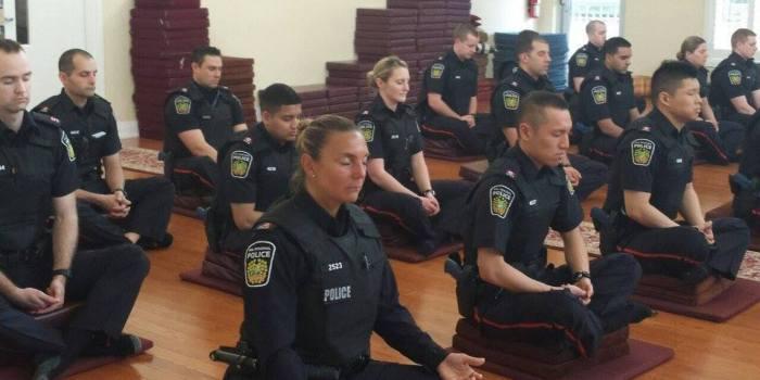 police-meditation